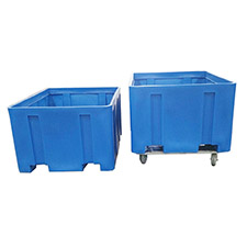 9020 Plastic Forkliftable Containers