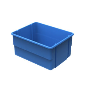 Plastic bulk carts