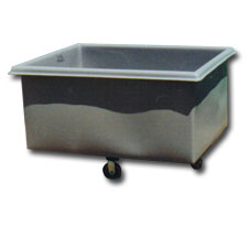 3005 Plastic Flat-Sided Bulk Carts