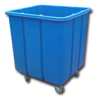 3027 Plastic Flat-Sided Bulk Carts