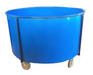 4011 Plastic Round Containers
