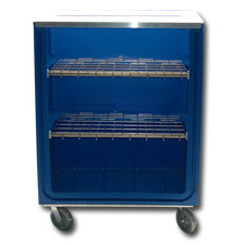 7002-1 Plastic Linen Exchange Carts