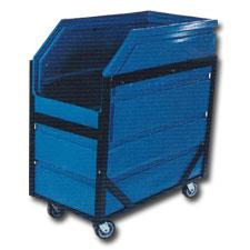 8001 Plastic Narrow Transport Carts