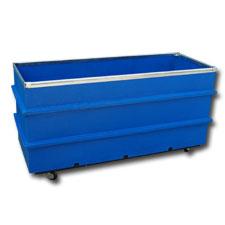 8017 Plastic Narrow Transport Carts