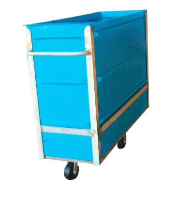 8024 Plastic Narrow Transport Carts