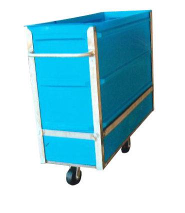 8026 Plastic Narrow Transport Carts