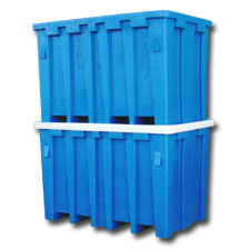 9010 Plastic Forkliftable Containers