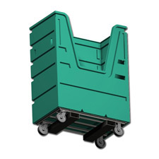 7001 with Pockets Plastic Custom Bulk Linen Carts