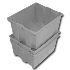 DPI242013 Plastic Stack Nest Totes
