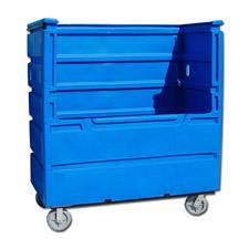 7030 Open Plastic Custom Bulk Linen Carts
