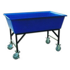 7024E Plastic Elevated Carts