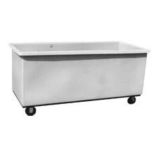 3003 Plastic Flat-Sided Bulk Carts