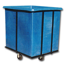 3010 Plastic Flat-Sided Bulk Carts