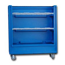 7002-5 Plastic Linen Exchange Carts