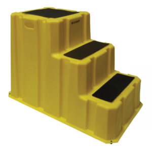 Nestable plastic steps