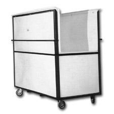 8010 Plastic Narrow Transport Carts