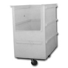 8021 Plastic Narrow Transport Carts