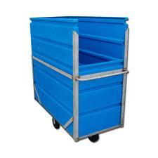 8030 Plastic Narrow Transport Carts