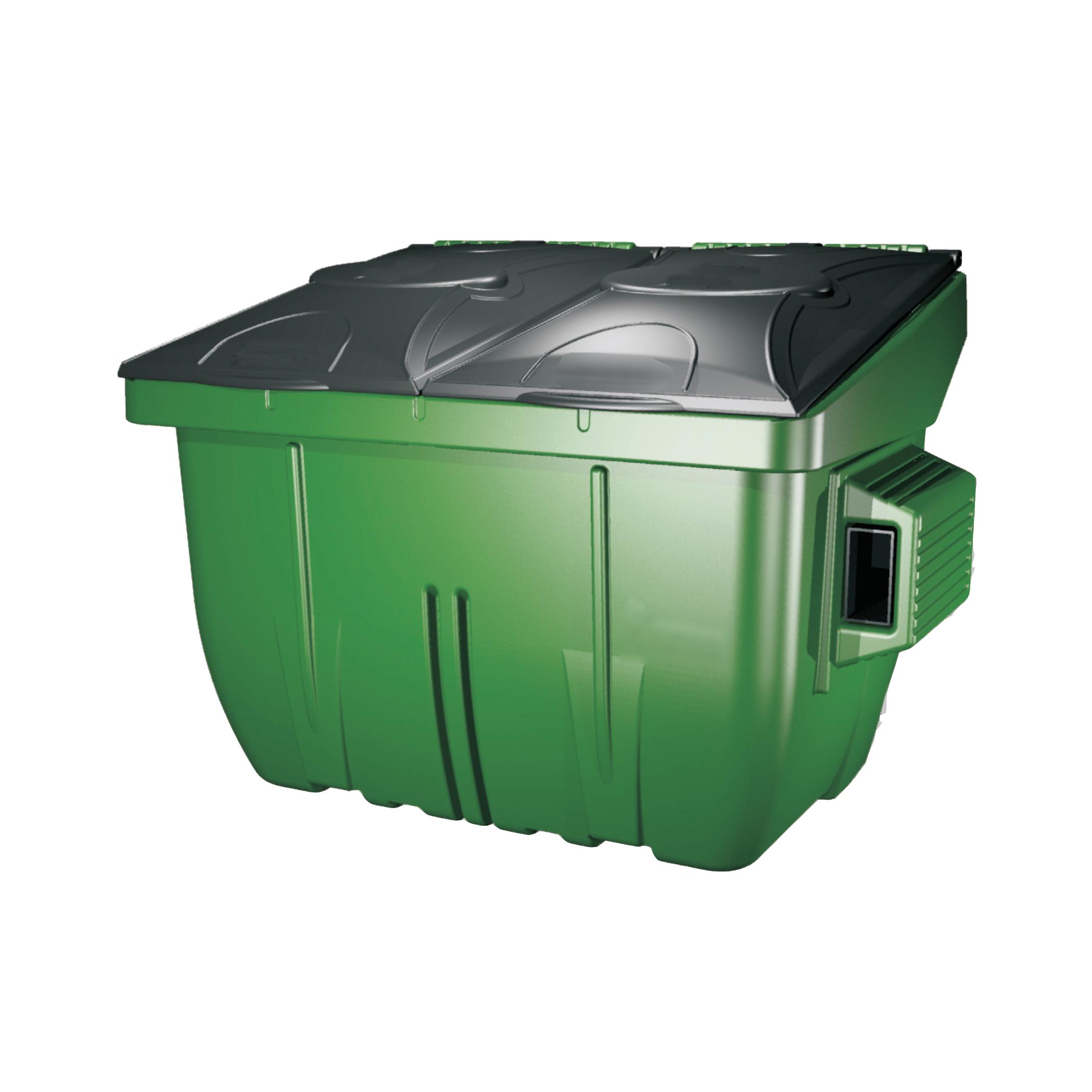 Plastic 4 Yard Waste Dumpster Diversified Plastics Inc