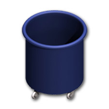 4000 Plastic Round Containers