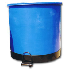 4010 Plastic Round Containers