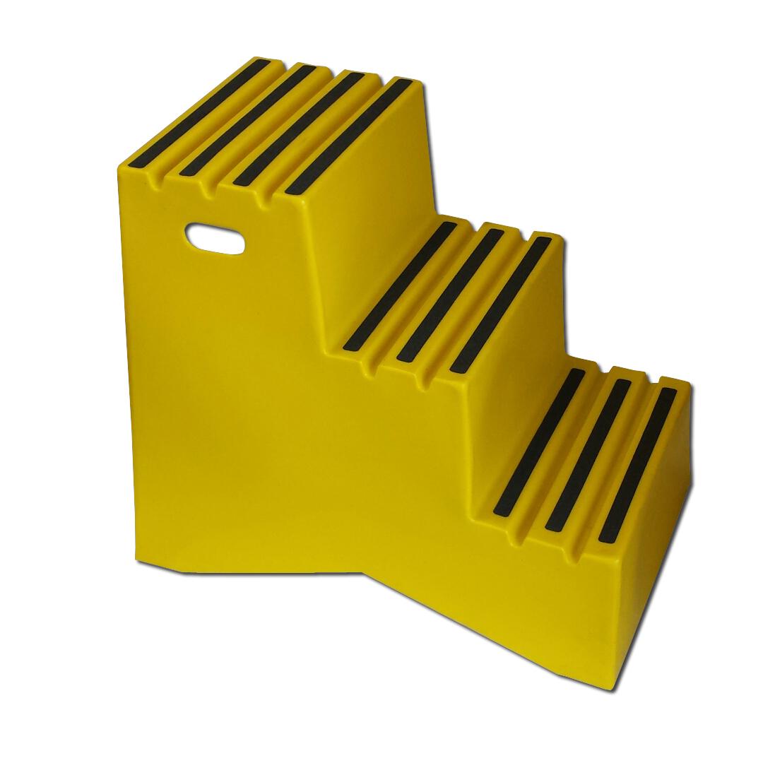 St327 Nestable Plastic Steps Diversified Plastics Inc